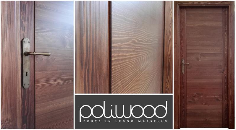 Porte In Legno Massello : Poliwood porte in legno massello belvedere langhe cuneo